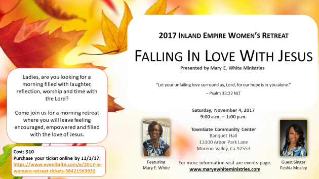 2017 Inland Empire Women_s Retreat