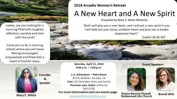 2018 Arcadia Pasadena Women's Retreat